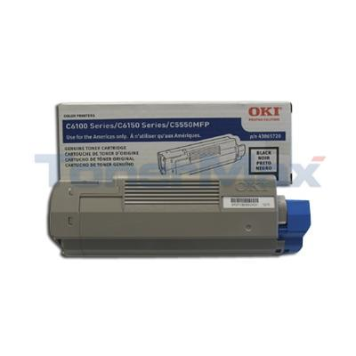 OKIDATA C6150 TONER CARTRIDGE BLACK